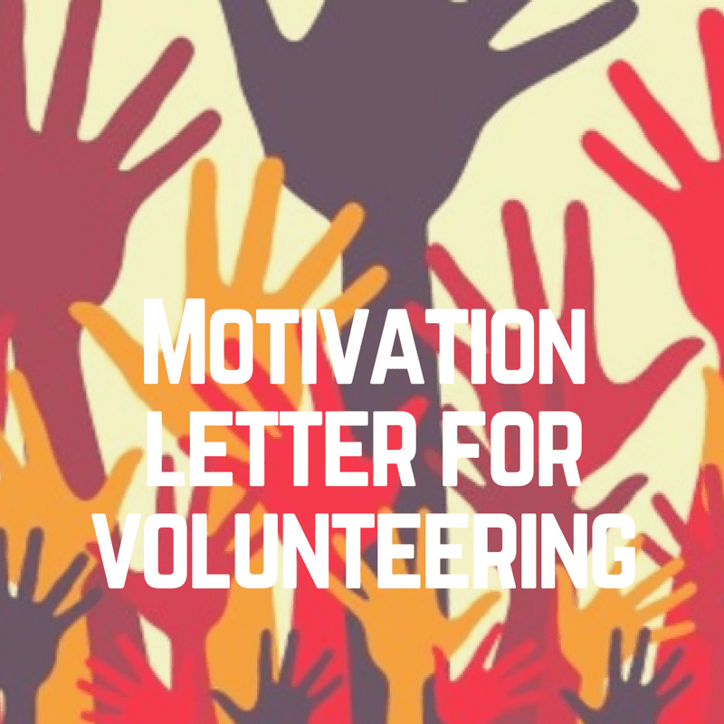 Motivation statement for UN Volunteer sample | Motivational ...