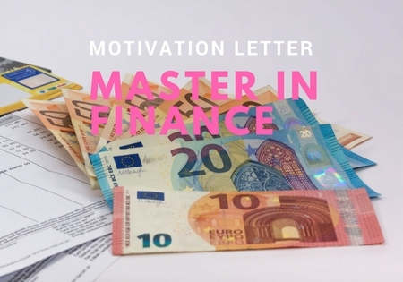 Motivation Letter Sample For A Master In Finance  Motivational Letter