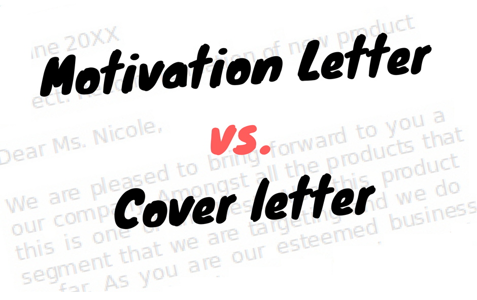 what is a motivation letter motivational letter