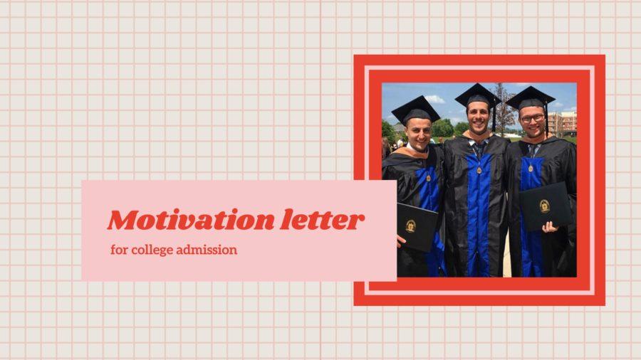 Motivation letter for college